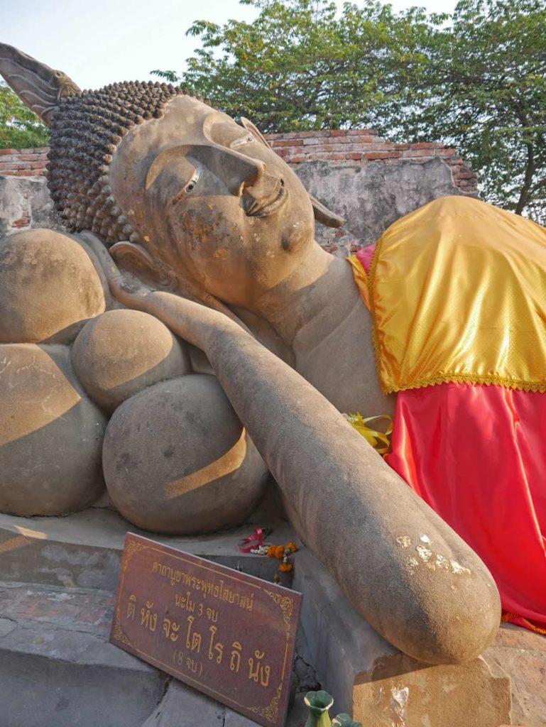 wat phutthai sawan buddha ayutthaya familie