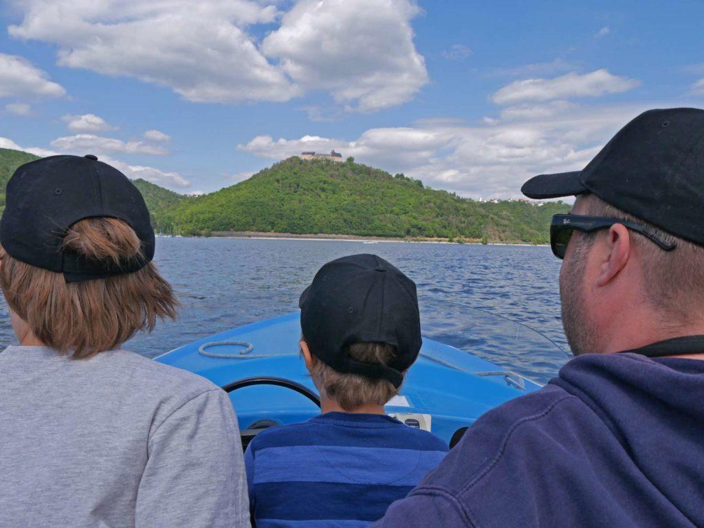 bootfahren edersee mit kindern