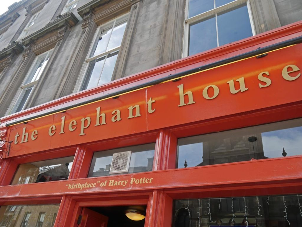 elephant house harry potter edinburgh roadtrip mit kindern