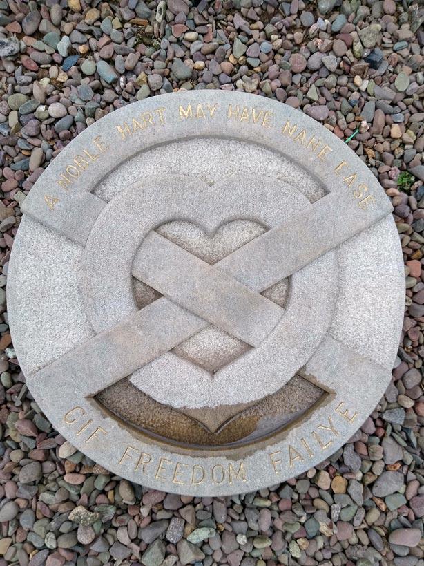 herz-robert-the-bruce-melrose-abbey-schottland-rundreise-großbritannien-mit-kindern