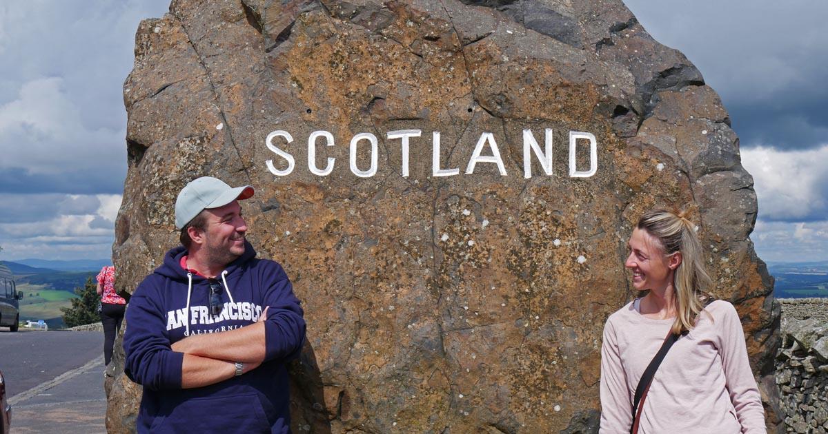 Rundreise von England nach Schottland