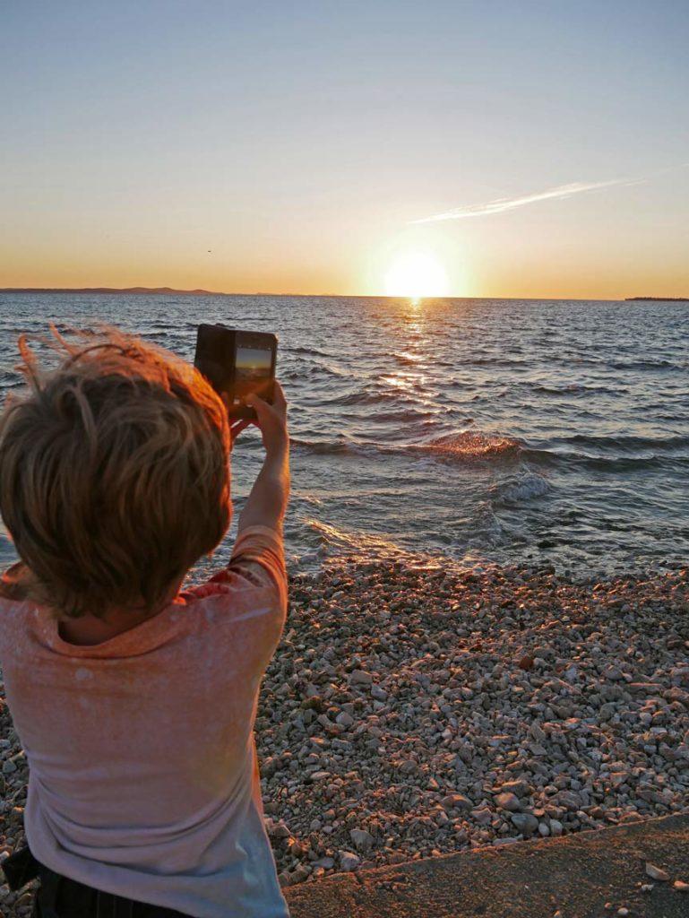 zadar-sonnenuntergang-dalmatien-mit-kindern