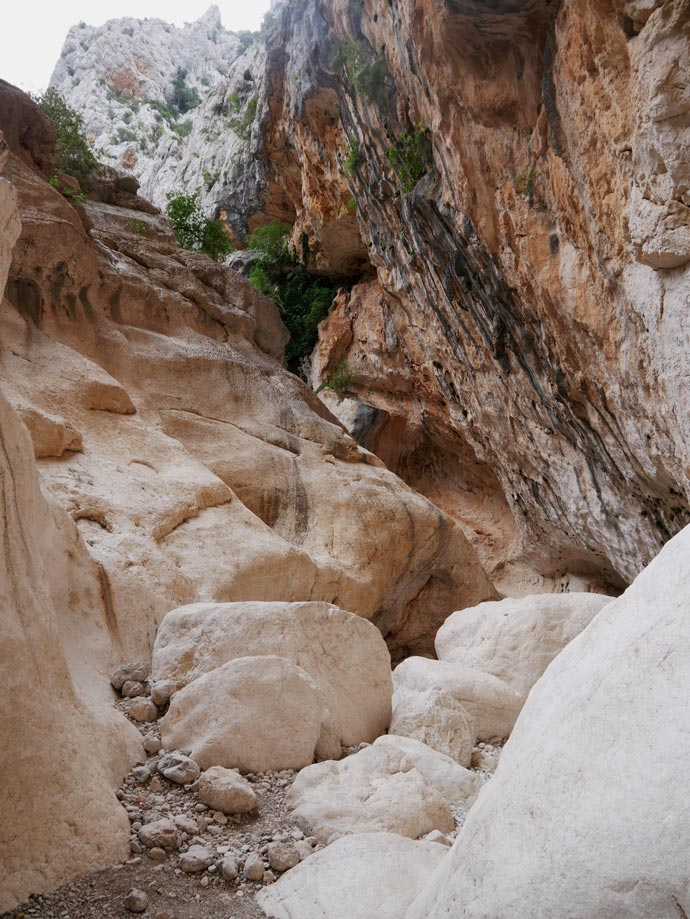 gola gorropu canyon sardinien mit kindern