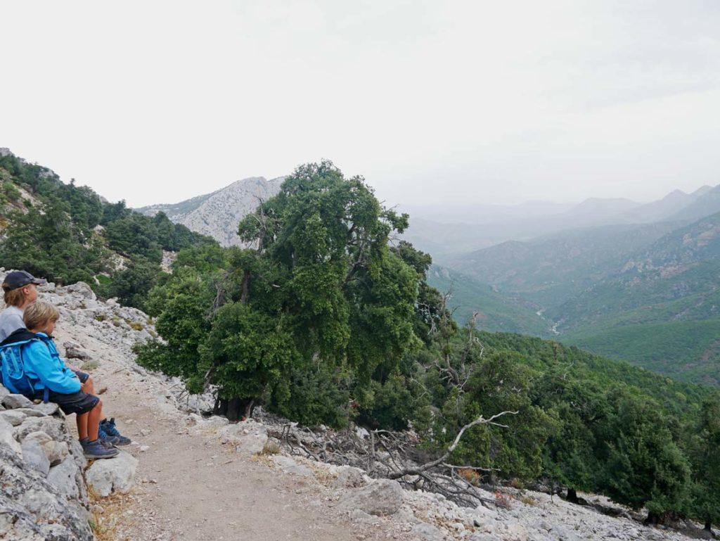 gola gorropu canyon wanderung sardinien mit kindern