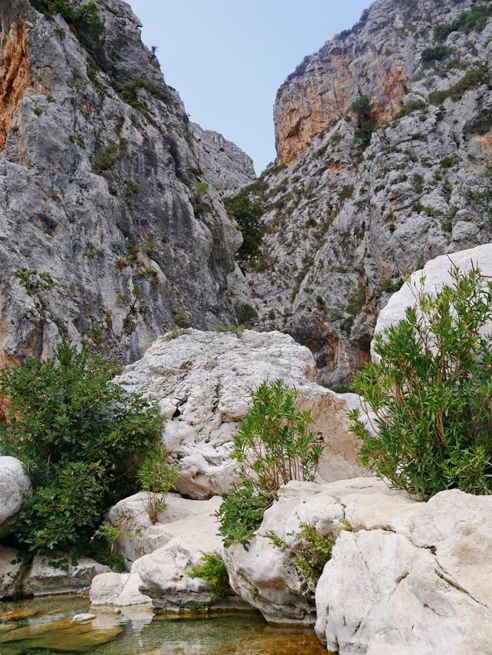 gola gorropu schlucht klettern sardinien mit kindern