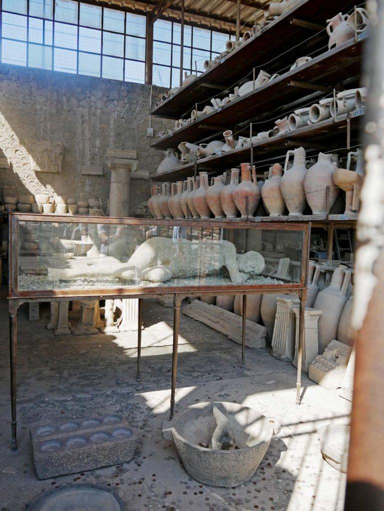 vulkanausbruch pompeji mit kindern