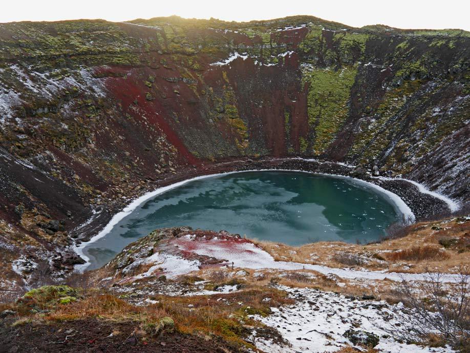 kerid vulkansee golden circle