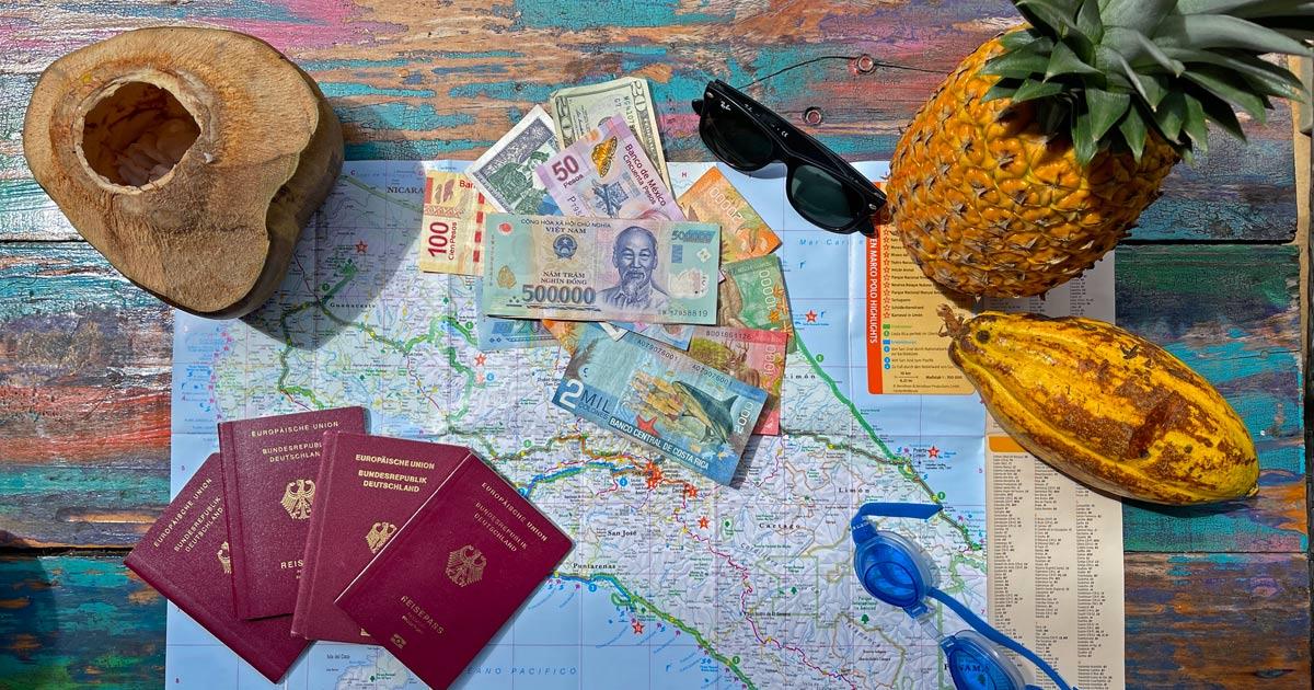 You are currently viewing Kosten einer Weltreise – Überblick nach Ländern