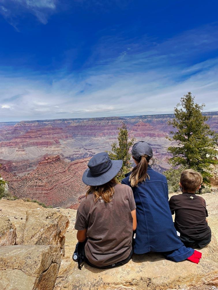 grand canyon mit kindern south rim usa reise