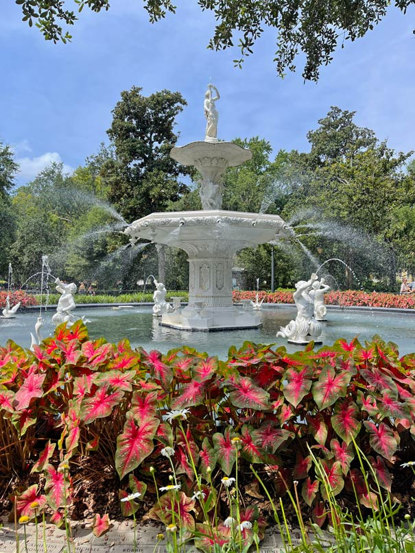 foryth fountain reisetipps savannah mit kind