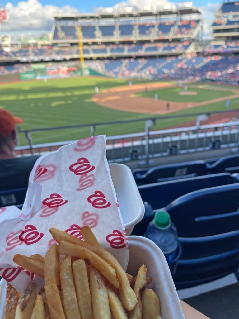 baseball spiel washington dc reisetipps