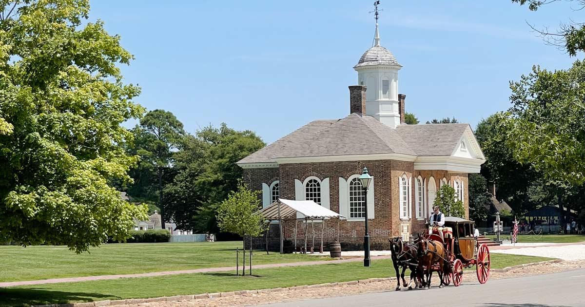 You are currently viewing Historisches Dreieck USA: Jamestown, Yorktown und Williamsburg