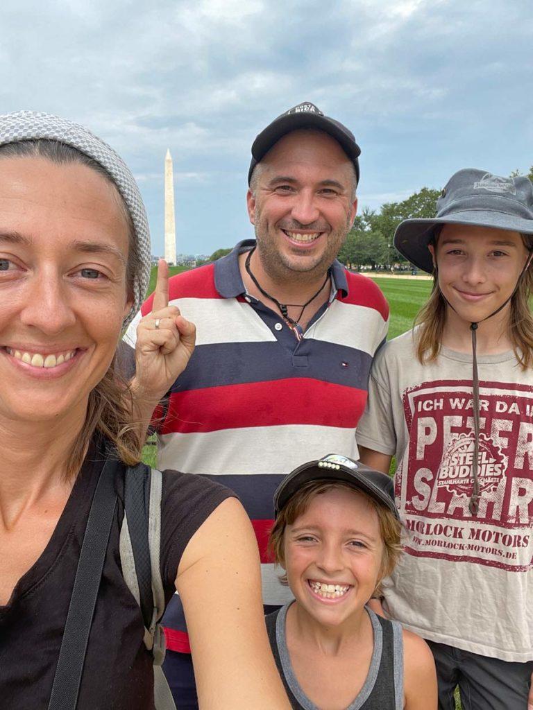 strandfamilie washington usa reise mit kind
